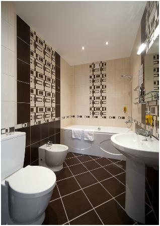 BEST Hotel Riga: Junior Suite bathroom