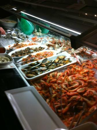 Casino Buffet: Seafood