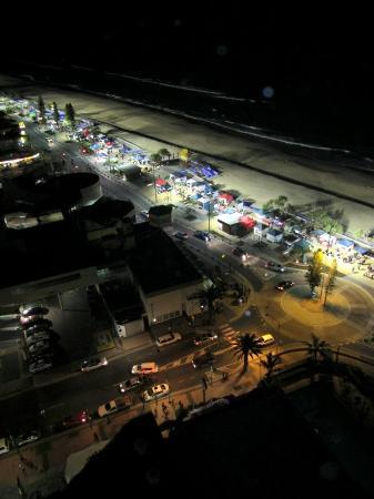 Surfers International: beachside market, Wed & Fri night