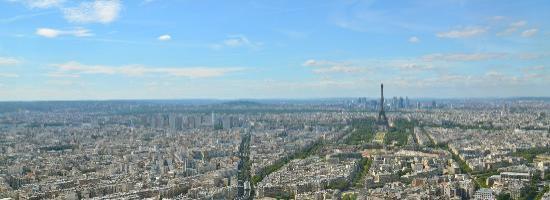 Le Fabe Hotel: Blick vom Tour Montparnasse