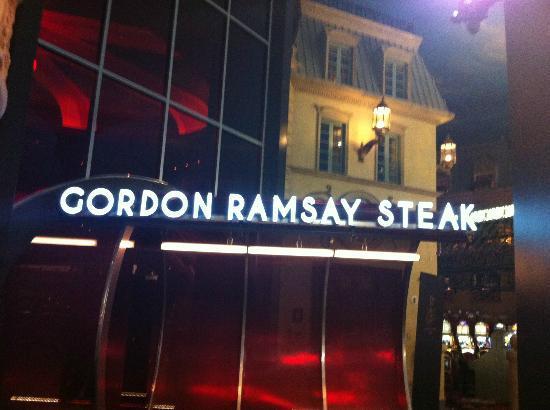 Gordon Ramsay Restaurant Paris Hotel Las Vegas