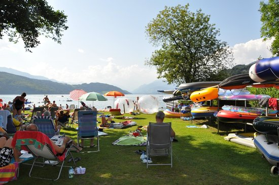 Camping Brunner: Excellent Beach/Lake Access