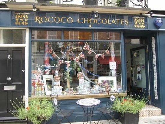 Photo of Restaurant Rococo Chocolates Belgravia at 5 Motcomb Street, London SW1X 8JU, United Kingdom