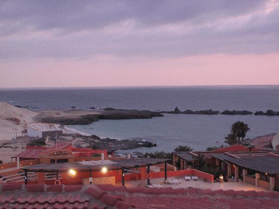 Marine Club Beach Resort: Vista dell'hotel dalla terrazza della stanza
