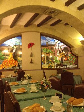 Hotel d'Espagne : salle à manger