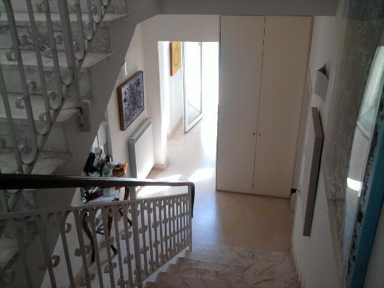 Villa Viviana: scale interne