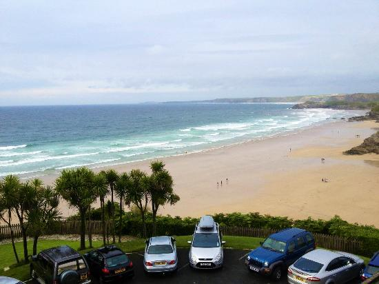 Trebarwith Hotel: View from Room 31