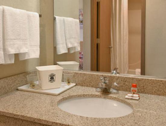 Super 8 Defiance: Bathroom