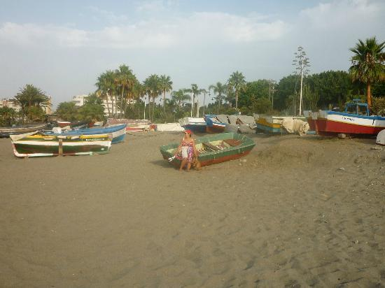 Chiringuito La Peseta: Zona de pescadores en La Rada