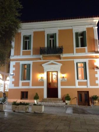 Il fascinoso Hotel Othon a Napflio