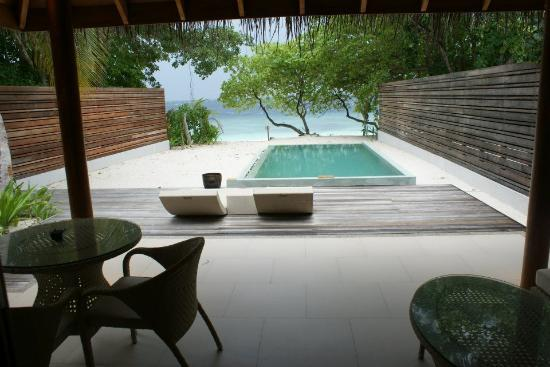 Beach Villa With Pool Picture Of Dusit Thani Maldives