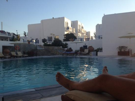 Poseidon Hotel - Suites: the pool