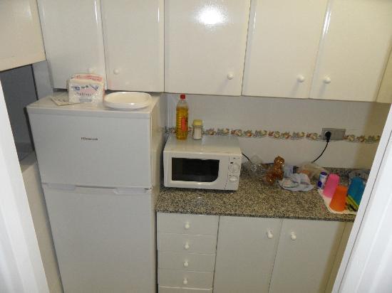 Apartamentos Atlantida: Cocina