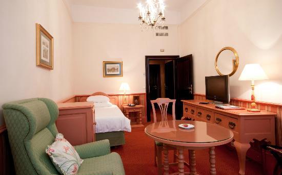 Hotel Konig Von Ungarn: Einzelzimmer Traditionell
