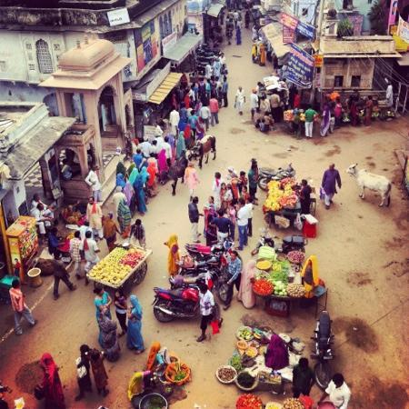 Baba Restaurant: view of Pushkar
