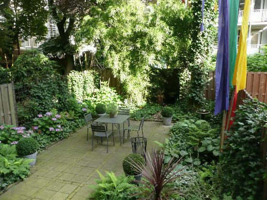 Amsterdam B&B Park9: il giardino