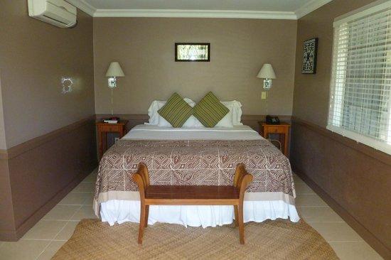 Tutuila, American Samoa: The bed