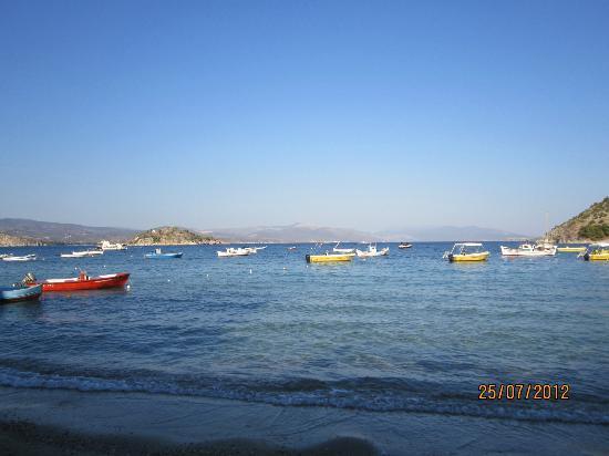 vue d'une plage de Tolo