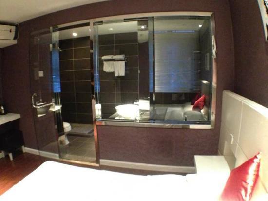 Elan Inn Guiling Zhongshan: camera con bagno