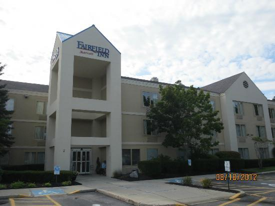 Fairfield Inn Portland Maine Mall: Entrance