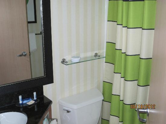 Fairfield Inn Portland/ Maine Mall: Small bathroom