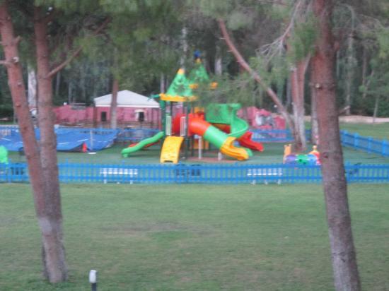 Marina di Pisticci, Italie : Parco giochi per bambini piccoli