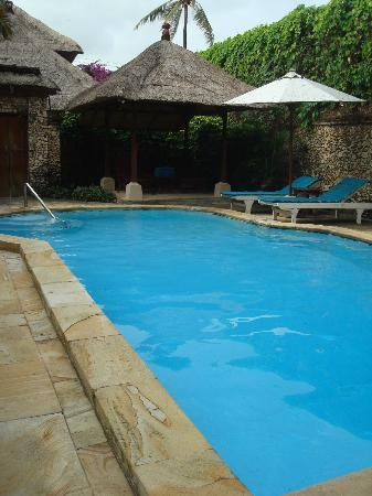 Aneka Beach Hotel: the private pool