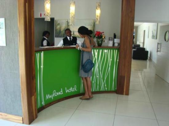 MyPond Hotel: Lovely reception