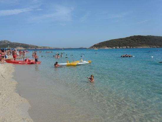 Spiaggia di Tuerredda: Chia tuerredda...limpida e pura.