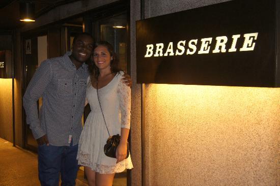 Brasserie: great