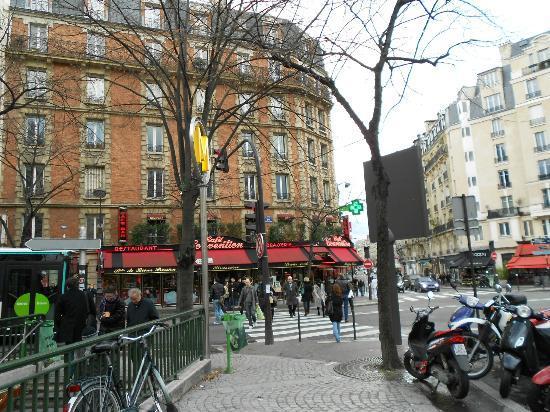 Quality Hotel Abaca Messidor Paris : I dintorni