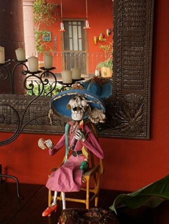 Casa de la Cuesta: A Catrina doll