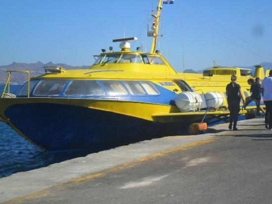 Hotel Iris: hydrofoil - 18mins to turkey
