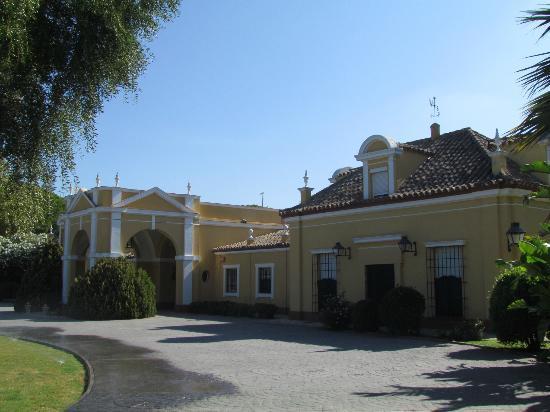 Hacienda Montenmedio: ingresso Hotel