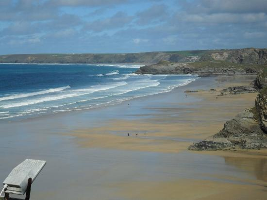 Trebarwith Hotel: View from hotel