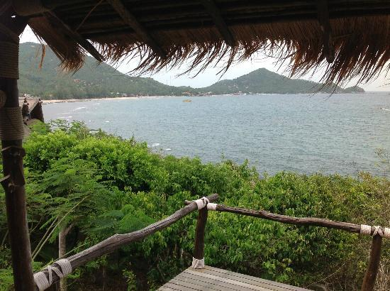 Koh Tao Cabana: view from room