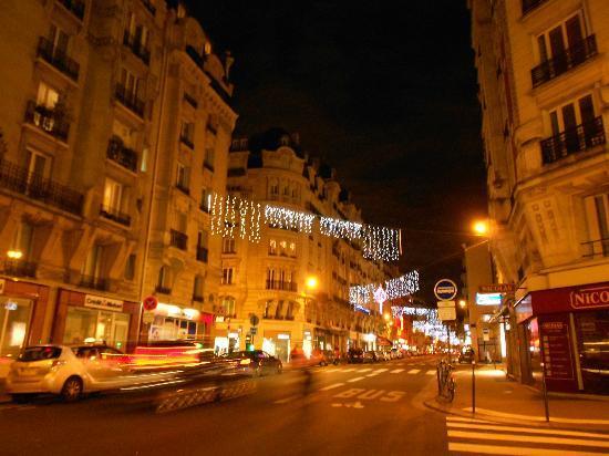Quality Hotel Abaca Messidor Paris : Dintorni natalizi