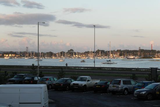 Premier Inn Poole Centre (Holes Bay) Hotel: The view from our room