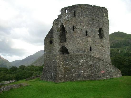 Llanberis, UK : Dolbadarn Castle - early 13th century