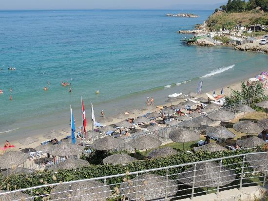Palmin Sunset Plaza: private beach you cango to it 