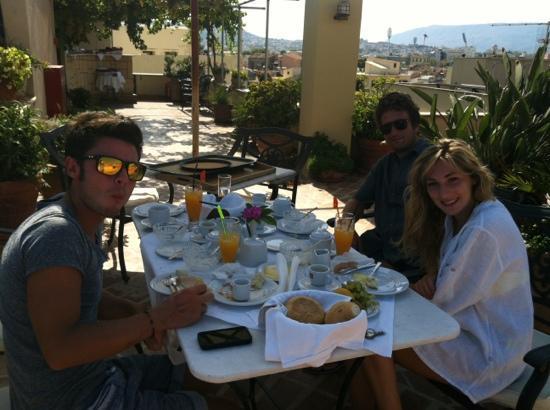 Pandora Suites Hotel: terrazza panoramica