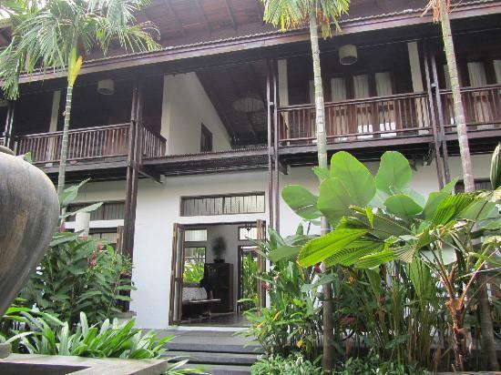 BanThai Village: hotel (entrance)