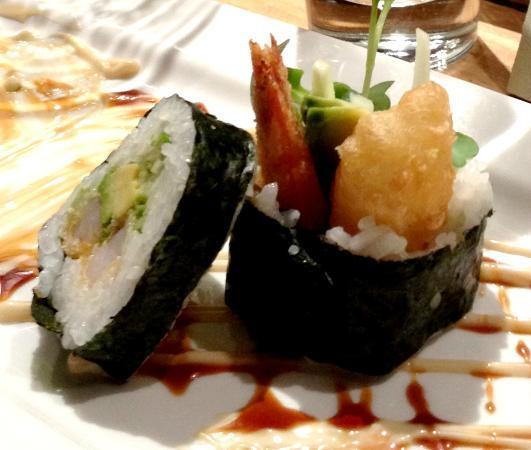 Yuzu: Tempura rolls