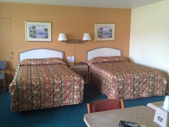 Super Inn Daytona Beach: , 2 Dbls