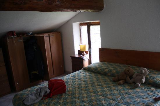 Rhemes Notre-Dame, Italien: la camera in mansarda