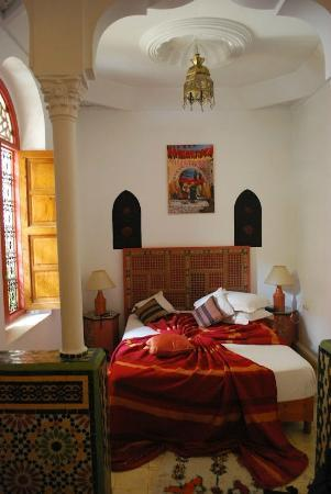 Riad Atlas Guest House: Notre chambre