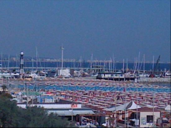 Hotel Resort Marinella : View West from Hotel Marinella balcony