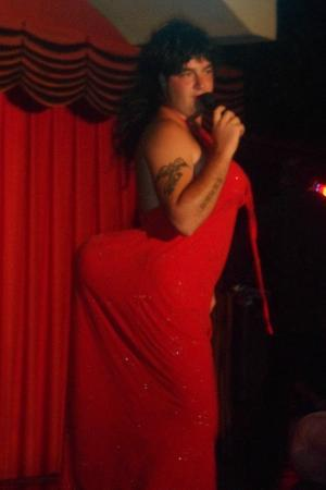 Club Turquoise: DomDom as Whitney Houston - BodyGuard Comedy night