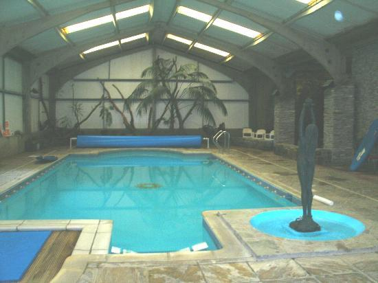 Trimstone Manor Country House Hotel : pool just wonderful - really warm water- bliss