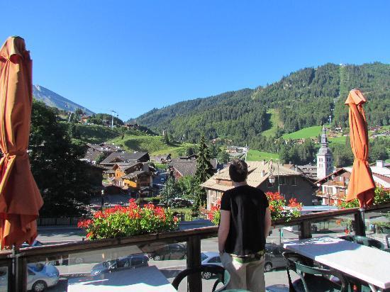 Hotel Alpen Roc: La terrasse